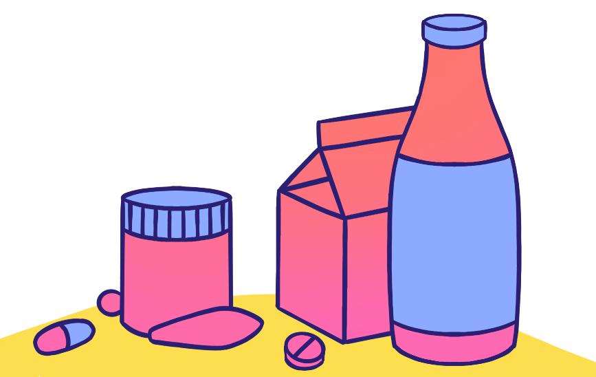 Пробиотики могут выпускаться в виде лекарственных препаратов, БАДов и пищевых продуктов — любой «живой» кефир или йогурт тоже является пробиотиком